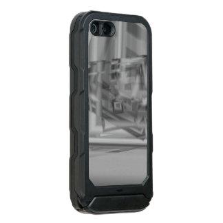 Capa À Prova D'água Para iPhone SE/5/5s Design monocromático à moda bonito do teste padrão