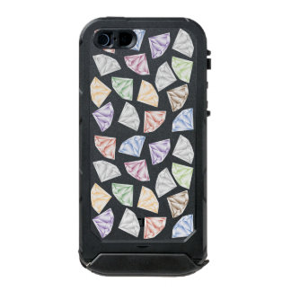 Capa À Prova D'água Para iPhone SE/5/5s Diamantes coloridos para meu querido