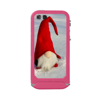 Capa À Prova D'água Para iPhone SE/5/5s Gnomo escandinavo do Natal