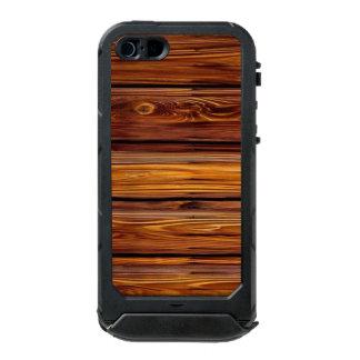 Capa À Prova D'água Para iPhone SE/5/5s Identificação de madeira do ATLAS do iPhone