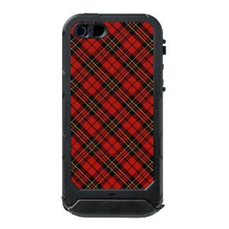 Capa À Prova D'água Para iPhone SE/5/5s Identificação vermelha clássica do ATLAS do iPhone
