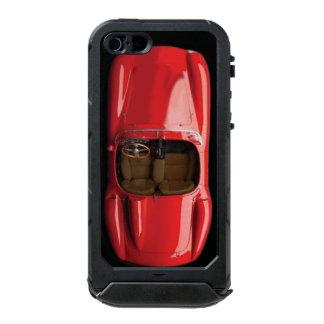 Capa À Prova D'água Para iPhone SE/5/5s Identificação vermelha do ATLAS do iPhone SE/5/5S