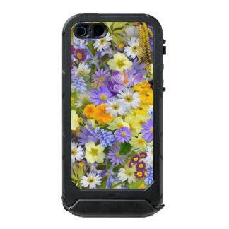 Capa À Prova D'água Para iPhone SE/5/5s O primavera floresce a identificação do ATLAS do