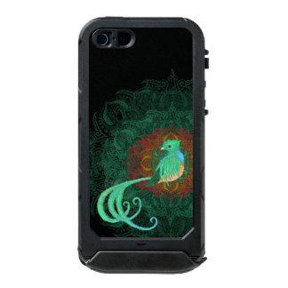 Capa À Prova D'água Para iPhone SE/5/5s Quetzal encaracolado