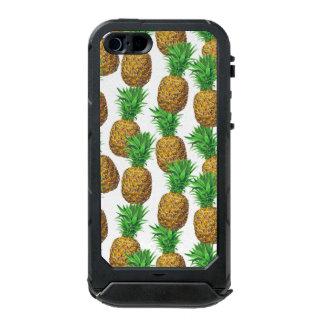 Capa À Prova D'água Para iPhone SE/5/5s Teste padrão sem emenda com abacaxis