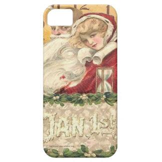 Capa Barely There Para iPhone 5 1º de janeiro ano novo do tempo velho do pai