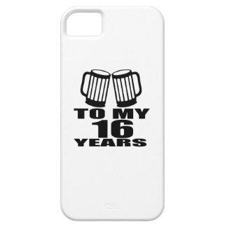 Capa Barely There Para iPhone 5 16 elogios a meu aniversário