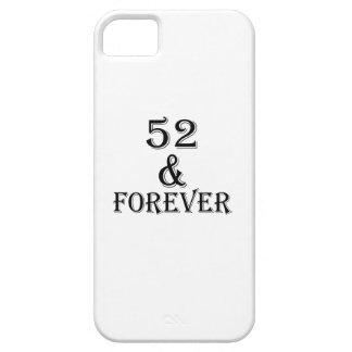 Capa Barely There Para iPhone 5 52 e para sempre design do aniversário
