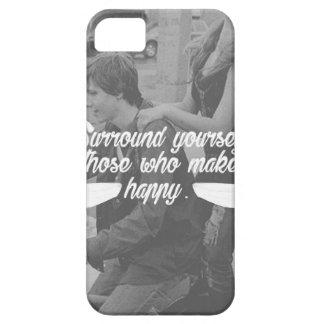 Capa Barely There Para iPhone 5 A bordadura você mesmo esteja feliz