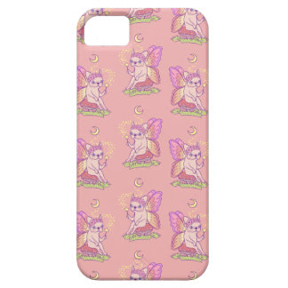 Capa Barely There Para iPhone 5 A fada bonito de Frenchie está moldando um período