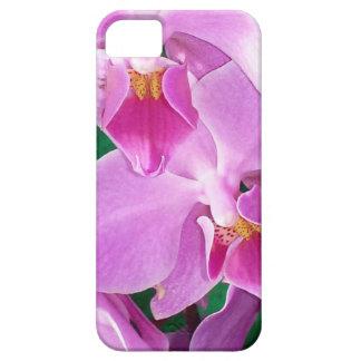 Capa Barely There Para iPhone 5 A orquídea floresce close up no rosa