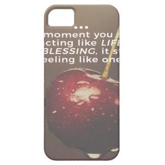 Capa Barely There Para iPhone 5 A vida é uma bênção