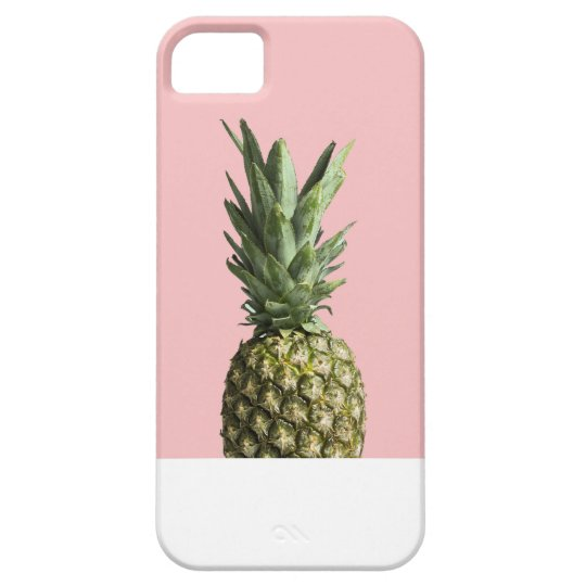 CAPA BARELY THERE PARA iPhone 5 ABACAXI ROSE
