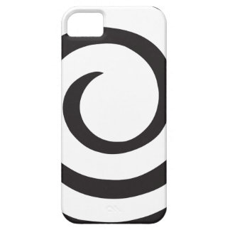 Capa Barely There Para iPhone 5 Abstrato espiral