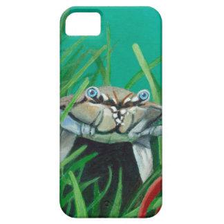 Capa Barely There Para iPhone 5 Ahoy encontra o caranguejo inferior do mar da água