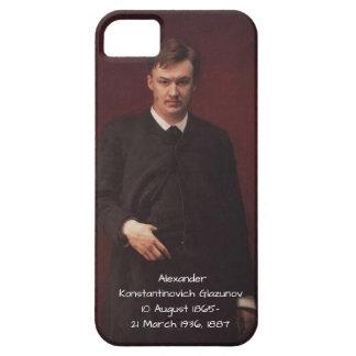 Capa Barely There Para iPhone 5 Alexander Konstamtinovich Glazunov 1887