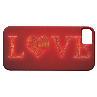 Capa Barely There Para iPhone 5 Amor