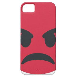 Capa Barely There Para iPhone 5 Angry Emoji