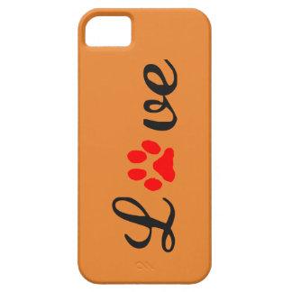 Capa Barely There Para iPhone 5 animais de estimação do amor do caso do iPhone
