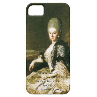 Capa Barely There Para iPhone 5 Anna Amalia de Brunsvique-Wolfenbuttel 1739-1807