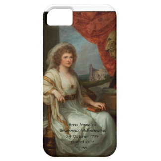 Capa Barely There Para iPhone 5 Anna Amalia de Brunsvique-Wolfenbuttel 1788