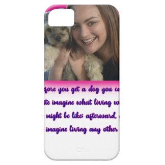 Capa Barely There Para iPhone 5 Antes que você obtiver um cão