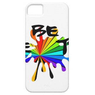 Capa Barely There Para iPhone 5 Arte colorida criativa