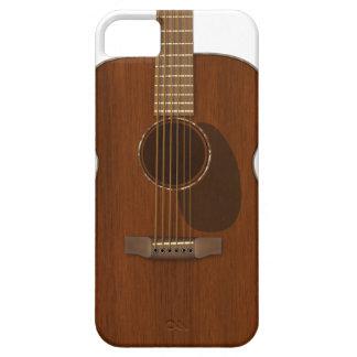 Capa Barely There Para iPhone 5 Arte da guitarra acústica