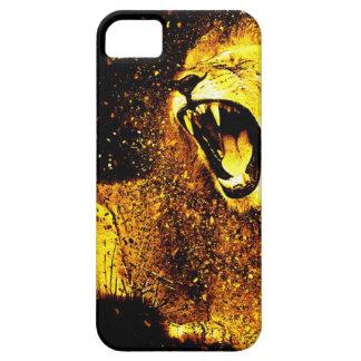 Capa Barely There Para iPhone 5 Arte do leão