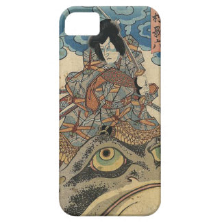 Capa Barely There Para iPhone 5 Arte japonesa do sapo