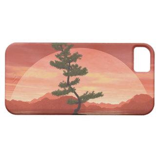 Capa Barely There Para iPhone 5 Árvore dos bonsais do pinho escocês - 3D rendem