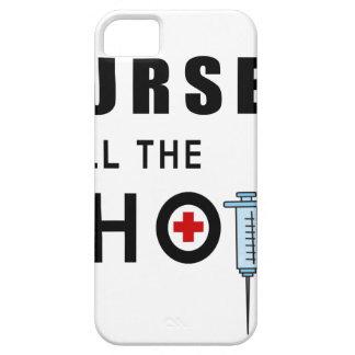 Capa Barely There Para iPhone 5 As enfermeiras chamam os tiros