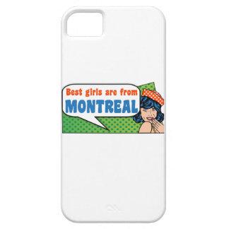 Capa Barely There Para iPhone 5 As melhores meninas são de Montreal