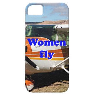 Capa Barely There Para iPhone 5 As mulheres voam: aviões altos da asa