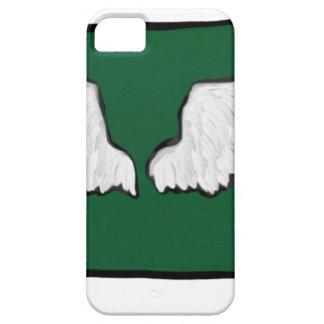 Capa Barely There Para iPhone 5 Asas resistentes de Norht Dakota