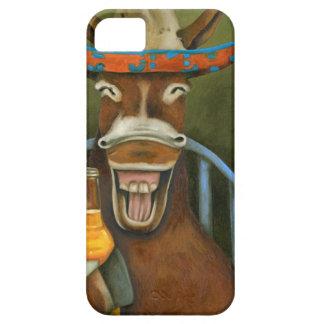 Capa Barely There Para iPhone 5 Asno de riso