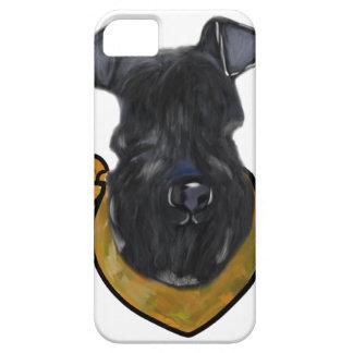 Capa Barely There Para iPhone 5 Azul de Kerry Terrier