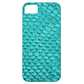 Capa Barely There Para iPhone 5 Azul de turquesa do réptil