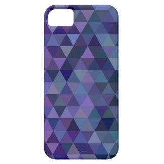 Capa Barely There Para iPhone 5 Azulejos do triângulo