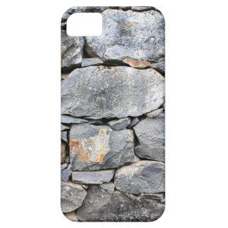Capa Barely There Para iPhone 5 Backgound de pedras naturais como a parede