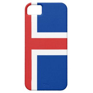Capa Barely There Para iPhone 5 Baixo custo! Bandeira de Islândia