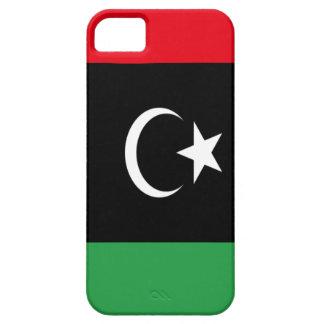 Capa Barely There Para iPhone 5 Baixo custo! Bandeira de Líbia