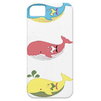 Capa Barely There Para iPhone 5 Baleias amigáveis