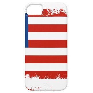 Capa Barely There Para iPhone 5 Bandeira americana afligida