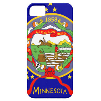 Capa Barely There Para iPhone 5 Bandeira de Minnesota