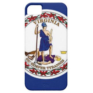 Capa Barely There Para iPhone 5 Bandeira de Virgínia