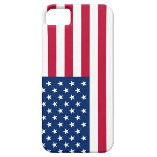 Capa Barely There Para iPhone 5 Bandeira EUA americanos de América