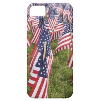 Capa Barely There Para iPhone 5 Bandeiras do Memorial Day