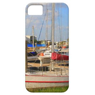 Capa Barely There Para iPhone 5 Barcos no porto, Darwin, Austrália