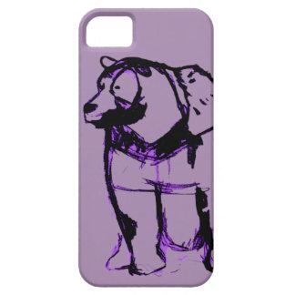 Capa Barely There Para iPhone 5 Big Bear na uva